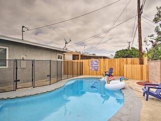 NEW! 3BR Home w/Pool - 3.7 mi to Disneyland!