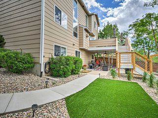 NEW! Luxury Colorado Springs Apartment w/Fire Pit!