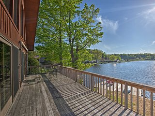 NEW! Harrisville House on Lake Bonaparte w/ Dock!