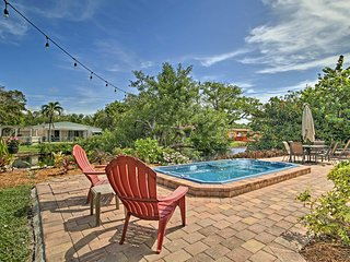 Home on Canal w/ Pool, 3 Mi. to Hollywood Beach!