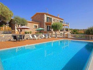 Villa 8 pax S'Alquería de Son Gual. Private pool. garden. Mallorca- 00067-