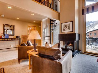 Vail Village Creekside Penthouse, 3BD + Loft
