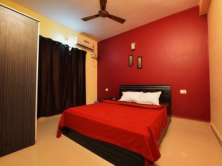 Mirage, 1BHK Fully Furnished Apt. with Pool, close to Anjuna Beach