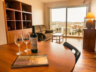 Apartamento con terraza y parking privado, Girona