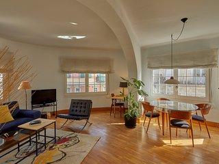 Apartamento elegante con gran terraza