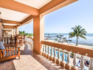 2nd floor corner oceanfront condo. Family-friendly resort with 3 amazing pools!