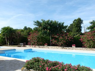 Gite 8 personnes avec piscine chauffee