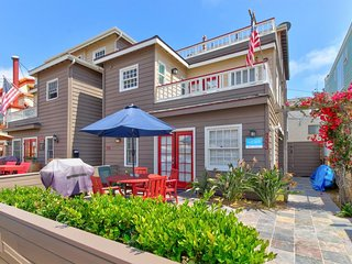 Modern, family-friendly home in South Mission Beach - close to the ocean