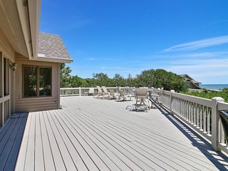 NEW LISTING! Luxury oceanfront home w/deck space, great views & beach access