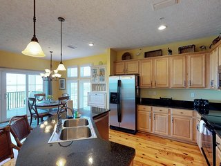 NEW LISTING! Oceanfront retreat with shared pool/hot tub and ocean views!