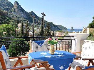Rooftop 1 bedroom apartment at a villa 450 m from Ag.Gordios beach, West Corfu