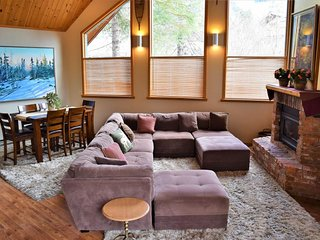 NEW LISTING! Comfy house w/private hot tub - walk to the resort & ski slopes!