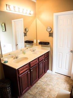 Double Vanity in Master Suite
