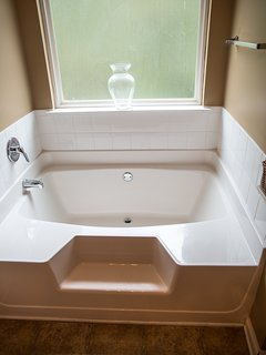 Garden Tub In Master...come relax