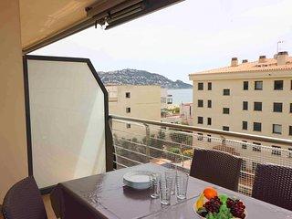 Duplex apartamento en Residencia Mileni en alquiler Roses-MIL2 243