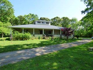 Frank Lloyd Wright Prairie Style Home on 4 Acres Wild Life Refuge