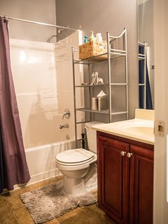 Main Level Full Shower/Tub Bathroom