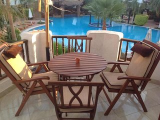 Affordable luxury 2 bed pool view Delta Sharm Resort & Spa