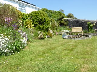 Garden below flat
