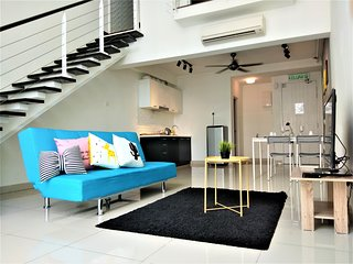 1-6Pax Scott Garden Duplex 5mins to MidValley