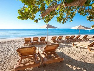 Walk Right In to the Crystal Clear Caribbean Ocean at Infinity Bay Resort