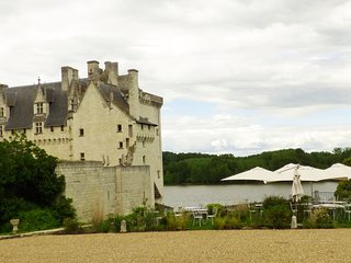 Lovely home in the beautiful village of Montsoreau in the Loire Valley.