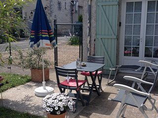 Chambre independante equipee avec jardin pres des chateaux de Loire