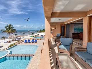 2nd floor corner views and breezes! Gorgeous oceanfront luxury condo w/ 3 pools!