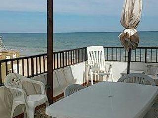 Apartamento primera linea de playa, wiffi gratis