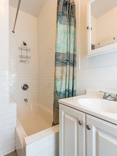 Comfortable, Clean and modern bathroom.