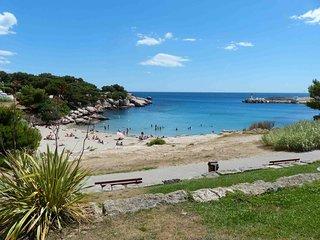 A Carro L'Oceane (T2 cosy clim wifi a 5 min de la plage)