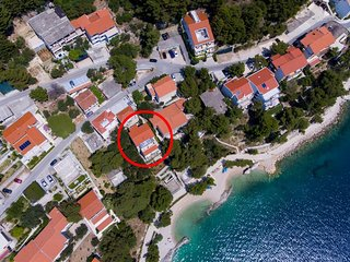 One bedroom apartment Brela (Makarska) (A-13052-f)