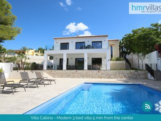 HMR Villas - Villa Cabina - Moraira