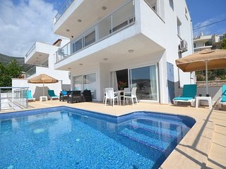New Age Lettings Luxury Villa Maria with private pool and magnificient sea view