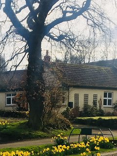 Rural cottage on edge of conservation village .newly restored with large garden