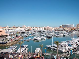 Just2book- Amazing T1 with outstanding view of Marina Vilamoura