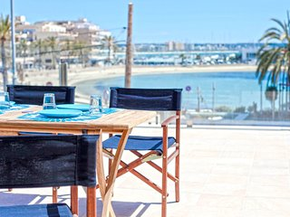 !! 65 m2 Terrace sea front  -Can Pastilla-3