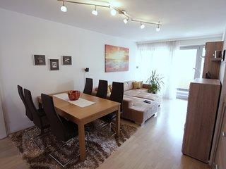 Freundliche ruhige Wohnung mit Balkon nahe Donau Kanal