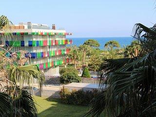 Apartamento Tapiz, frente al mar.