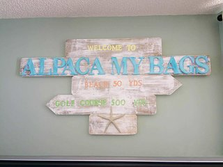 We welcome you to 'Alpaca My Bags'!