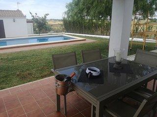 chula casa de campo con vistas al mar, piscina, barbacoa, 3km del pueblo