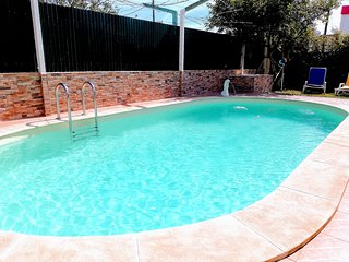 Vacation home with pool near beach and golf