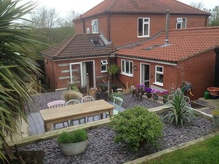 St James House, a 3-bedroom cottage with fantastic patio and wonderful views