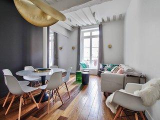 Luxury Apt - heart of Paris - 2BR - 2bathrooms