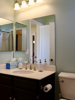 Jack and Jill Bathroom - Shared with Bedroom 2 and 3 - Upstairs