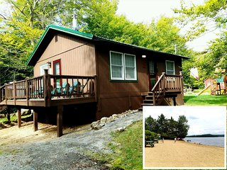 SANDY BEACH ACCESS! Desired Old Forge Location. Quiet Area, Deck, Wash/Dryer! CW