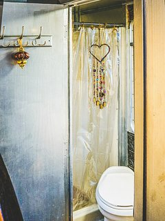 Time to Freshen Up - the Bathroom with Shower