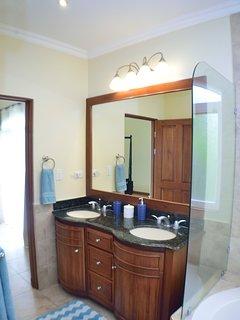 Master Bathroom w/ Jacuzzi Tub