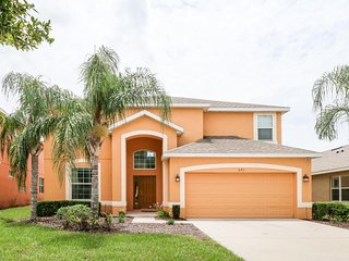 Family-friendly home w/ large, private pool, spa, & game room - close to Disney