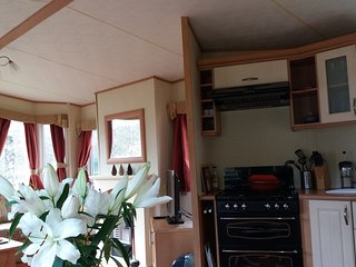 CARAVAN TUMMEL VALLEY HOLIDAY PARK IN BEAUTIFUL RURAL PERTHSHIRE
